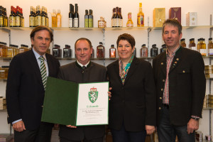LH Mag. Franz Voves, Ing. Andreas Fischerauer, Martina Fischerauer, Regierungskommissär Herbert Baier Credits: www.lexpix.at